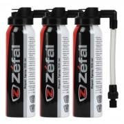 Conjunto Com 3 Unidades de Selante CO2 Zefal 100ML Pit Stop