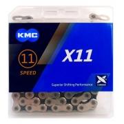 Corrente Para Bike KMC X11 118 Elos Dourada Transmissão 11V