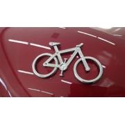 Emblema Ictus Bicicleta Cromado com Imã
