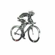 Emblema Ictus Ciclista Cromado com Imã