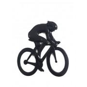 Emblema Ictus Ciclista Preto com Imã