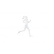 Emblema Ictus Corredora Na Cor Branca com Imã