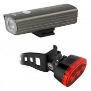 Farol Dianteiro 250 lumens + Luz traseira Bike Serfas ESC250