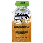 Gel Carboidrato Exceed Energy Limão 30g