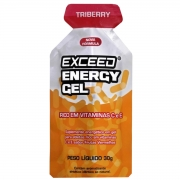 Gel Carboidrato Exceed Energy Triberry 30g