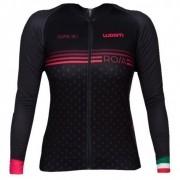 Jaqueta de Ciclismo Woom Feminino Supreme Rosa