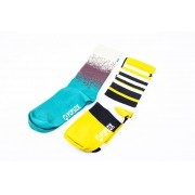 Jogo Com 2 Meias Popsox Performance Light Stripes e Gradient
