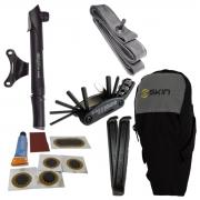 Kit De Reparo Para Bicicleta Com Câmara De Ar Aro 26