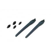 Kit Reposição Hastes Oakley Flak 2.0 Azul 2 Narigueiras