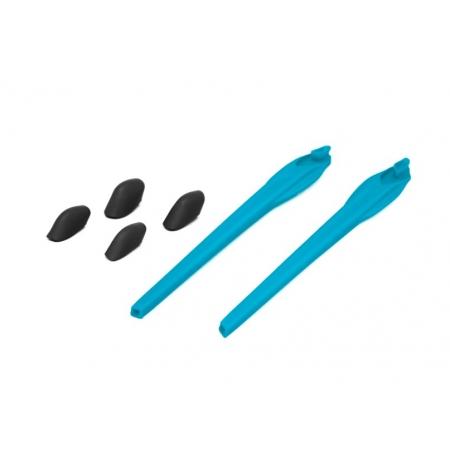 Kit Reposição Hastes Oakley Flak 2.0 Azul Sky 2 Narigueiras