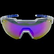 Óculos de Ciclismo HB Azul Evo Kit 3 Lentes + Antiembaçante
