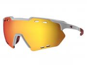 Óculos de Ciclismo HB Branco Evo Kit Lentes + Antiembaçante