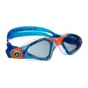Óculos de Natação Aqua Sphere Kayenne Jr. Azul/Laranja
