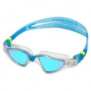 Óculos de Natação Aqua Sphere Kayenne Transparente e Azul