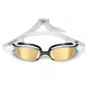 Óculos de Natação Aqua Sphere MP Xceed Bco/Pto Titanium Gold