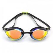 Óculos de Natação Speedo Icon Compretição Preto Espelhado