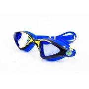 Óculos de Natação Speedo Meteor Azul e Amarelo Lente Azul