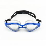 Óculos de Natação Speedo Meteor Prata e Azul Lente Cristal