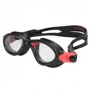 Óculos de Natação Speedo Phanton Pt e Vermelho Lente Trans