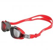 Óculos de Natação Speedo Stream Cinza Vermelho Lente Fumê