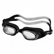 Óculos de Natação Speedo Tornado Preto Lente Transparente