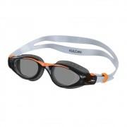 Óculos de Natação Speedo Vulcan Preto e Laranja Lente Fumê
