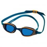 Óculos de Natação Speedo XPower Azul e Laranja Lente Azul