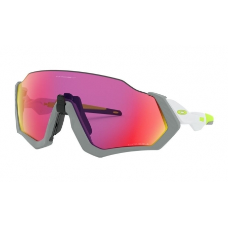 Óculos de Sol Oakley Flight Jacket Matte Fog Prizm Road
