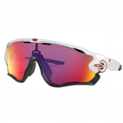 Óculos de Sol Oakley Jawbreaker Polished White Prizm Road