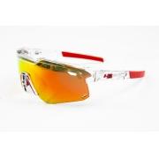 Óculos Hb Shield Evo Mountain Transp Vermelho Lente Mult Red