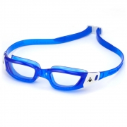 Óculos Natação Aqua Sphere Kameleon Azul Branco Transparente