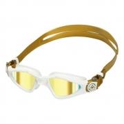 Óculos Natação Aqua Sphere Kayenne Compact Fit Gold Amarelo