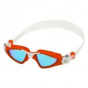 Óculos Natação Aqua Sphere Kayenne Compact Fit Red e Azul