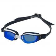 Óculos Natação Aqua Sphere M. Phelps Exceed Br/Pto Azul
