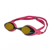 Óculos Natação Hammerhead Racer Pro Mirror Rosa Espelhado