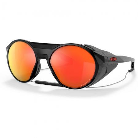 Óculos Oakley Clifden Polished Black Prizm Ruby Polarizado