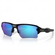 Óculos Oakley Flak 2.0 XL Black Prizm Sapphire Polarized