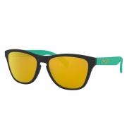 Óculos Oakley Frogskins Xs Mtt Translucent Poseidon 24K Irid