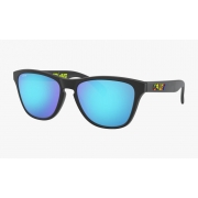 Óculos Oakley Frogskins Xs VR46 Polished Blk Prizm Saphire