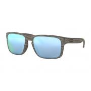 Óculos Oakley Holbrook WoodGrain Prizm Deep H2O Polarizado