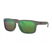 Óculos Oakley Holbrook WoodGrain Prizm Shallow H2o Polarized