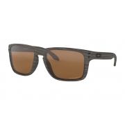 Óculos Oakley Holbrook XL WoodGrain Prizm Tungsten Polarized