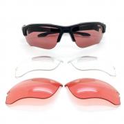 Óculos Oakley Speed Jacket Matte Black 3 Lentes + Estojo