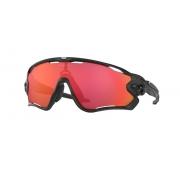 Óculos Sol Oakley Jawbreaker Matte Black Prizm Trail Torch