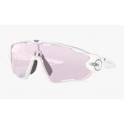 Óculos Sol Oakley Jawbreaker Polished White Prizm Low Light