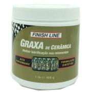 Pasta Graxa De Ceramica Finish Line 450g Alta Performance