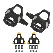 Pedal Shimano Speed Pd-Rs500 Preto Com Taco Cleat