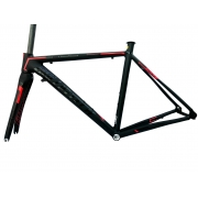 Quadro Speed Ballistech Roubaix Aero Garfo de Carbono Tam 51