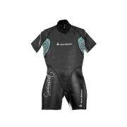Roupa de Borracha Aqua Sphere Aqua Skin Short Suit Feminina