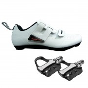 Sapatilha Triathlon Speed Absolute Triton 34 BR + Pedal R73H
